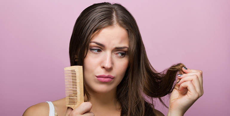 ریزش مو و عوامل آن